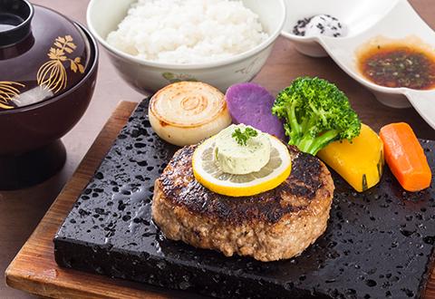Japanese beef hamburg Photo