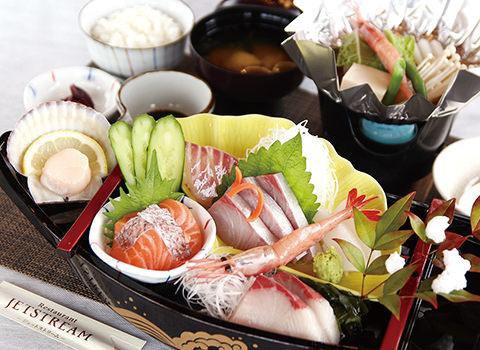 渡辺水産 魚と屋・魚料理ランチメニュー 数量限定 お刺身御膳