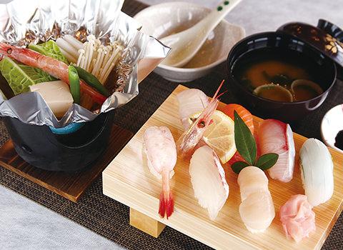 渡辺水産 魚と屋・魚料理ランチメニュー 数量限定 気合寿司
